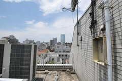 屋上の様子2。(2011-07-04,共用部,OTHER,6F)