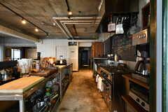 キッチンの様子。(2017-08-31,共用部,KITCHEN,1F)