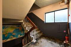階段の様子。(2017-08-31,共用部,OTHER,5F)