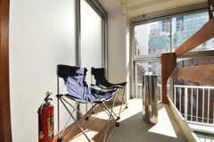 多目的スペース。写真では灰皿がありますが、喫煙不可となります。(2010-02-05,共用部,OTHER,4F)