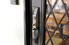 建物内部へ入る鍵もナンバー式。(2010-02-05,共用部,OTHER,4F)