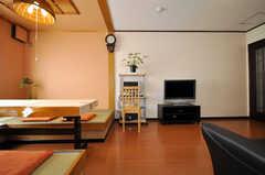 シェアハウスのラウンジの様子。(2010-02-05,共用部,LIVINGROOM,4F)
