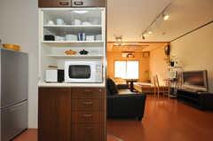 キッチン家電の様子。(2010-02-05,共用部,OTHER,4F)