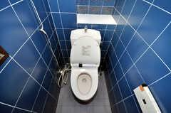 ウォシュレット付きトイレの様子。(2010-02-05,共用部,TOILET,4F)