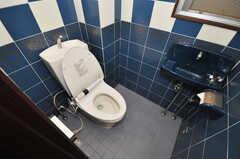 トイレの様子。(2010-02-05,共用部,TOILET,5F)
