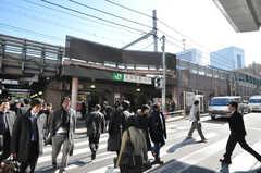 各線浜松町駅の様子。(2010-02-05,共用部,ENVIRONMENT,1F)