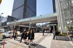 各線浜松町駅前の様子。(2010-02-05,共用部,ENVIRONMENT,1F)