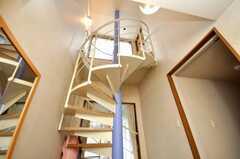 螺旋階段の様子。(2009-05-29,周辺環境,ENTRANCE,7F)