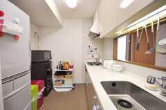 キッチンの様子。(2009-05-29,共用部,LIVINGROOM,8F)