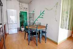 ダイニング・テーブルの様子。(2009-02-06,共用部,LIVINGROOM,8F)