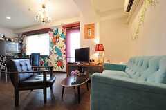 ソファも置かれています。(2013-02-21,共用部,LIVINGROOM,3F)