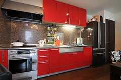 キッチンの様子。(2013-02-21,共用部,KITCHEN,3F)