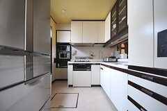 キッチンの様子。(2013-05-09,共用部,KITCHEN,1F)