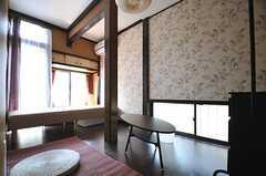 専有部の様子。和モダンの雰囲気です。(104号室)(2013-05-09,専有部,ROOM,1F)