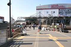 JR中央線・三鷹駅の様子。(2013-05-09,共用部,ENVIRONMENT,1F)