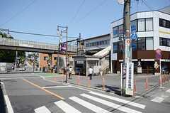 京王井の頭線・三鷹台駅の様子。(2013-05-24,共用部,ENVIRONMENT,1F)