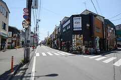 京王井の頭線・三鷹台駅周辺の様子。(2013-05-24,共用部,ENVIRONMENT,1F)