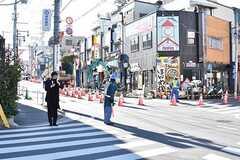 京王井の頭線・三鷹台駅周辺の様子。(2017-01-12,共用部,ENVIRONMENT,1F)