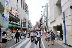 各線・吉祥寺駅前の様子。(2012-08-03,共用部,ENVIRONMENT,1F)