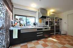 キッチンの様子。(2011-11-24,共用部,KITCHEN,1F)