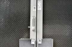 玄関の鍵はナンバー式。(2010-07-02,共用部,OTHER,1F)