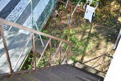 非常階段の様子。(2019-10-30,共用部,OTHER,2F)