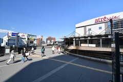 各線・三鷹駅の様子。(2017-03-22,共用部,ENVIRONMENT,1F)