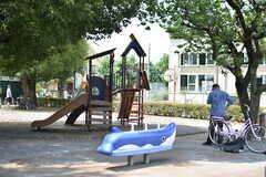 シェアハウス周辺の様子2。隣に公園があります。(2019-07-30,共用部,ENVIRONMENT,1F)