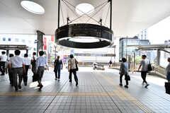各線・三鷹駅周辺の様子2。(2019-07-30,共用部,ENVIRONMENT,1F)