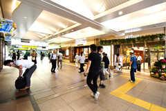 各線・三鷹駅の様子。(2019-07-30,共用部,ENVIRONMENT,1F)