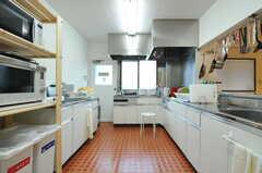キッチンの様子。(2012-10-08,共用部,KITCHEN,1F)