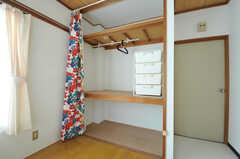 収納の様子。(302号室)(2012-10-08,専有部,ROOM,3F)