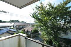 ベランダからの眺め。(311号室)(2012-10-08,専有部,ROOM,3F)