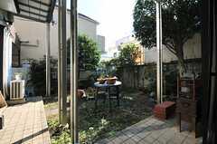 庭の様子。(2013-11-26,共用部,OTHER,1F)