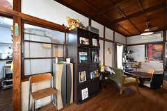 本棚の様子。(2017-09-15,共用部,LIVINGROOM,1F)