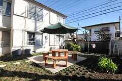 庭の様子。(2013-12-24,共用部,OTHER,1F)
