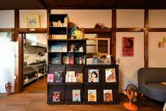 本棚の様子。(2020-08-28,共用部,LIVINGROOM,1F)