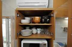 食器棚の様子。(2010-02-02,共用部,OTHER,2F)