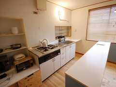 シェアハウスのキッチンの様子。(2008-03-17,共用部,KITCHEN,2F)