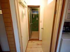 脱衣所の様子。(2008-03-17,共用部,BATH,2F)