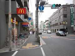 各線吉祥寺駅からシェアハウスへ向かう道の様子。(2008-03-17,共用部,ENVIRONMENT,4F)