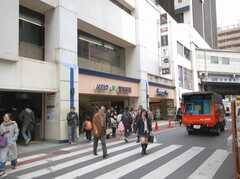各線吉祥寺駅の様子。(2008-03-17,共用部,ENVIRONMENT,4F)
