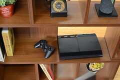 PS3も用意されています。(2013-12-17,共用部,LIVINGROOM,2F)