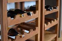 お酒は事業者さんからの寄贈。最初の入居者さんたちだけが味わえる特典です。(2013-12-17,共用部,OTHER,2F)
