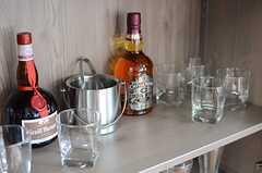素敵なグラス類がたくさんあります。(2013-12-17,共用部,OTHER,2F)