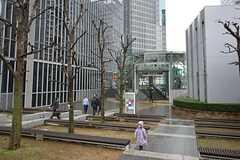 各線・中野坂上駅の周辺の様子2。(2014-12-01,共用部,ENVIRONMENT,1F)