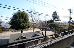 建物の向かいは公園です。(2016-02-10,共用部,OTHER,3F)