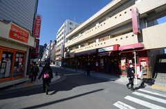 駅までの道程の様子。(2016-02-10,共用部,ENVIRONMENT,1F)