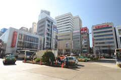 各線・中野駅前の様子。(2016-02-10,共用部,ENVIRONMENT,1F)
