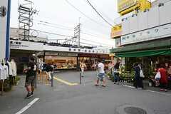 西武新宿線・鷺ノ宮駅の様子。(2014-09-17,共用部,ENVIRONMENT,1F)